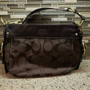 Coach Signature Zoe Purse